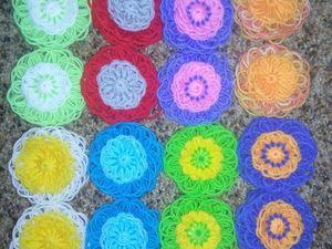 Цветы из шерсти. Ярмарка Мастеров - ручная работа, handmade.