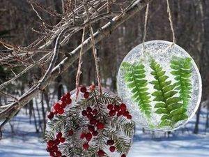 Ледяные новогодние игрушки — что проще?. Ярмарка Мастеров - ручная работа, handmade.