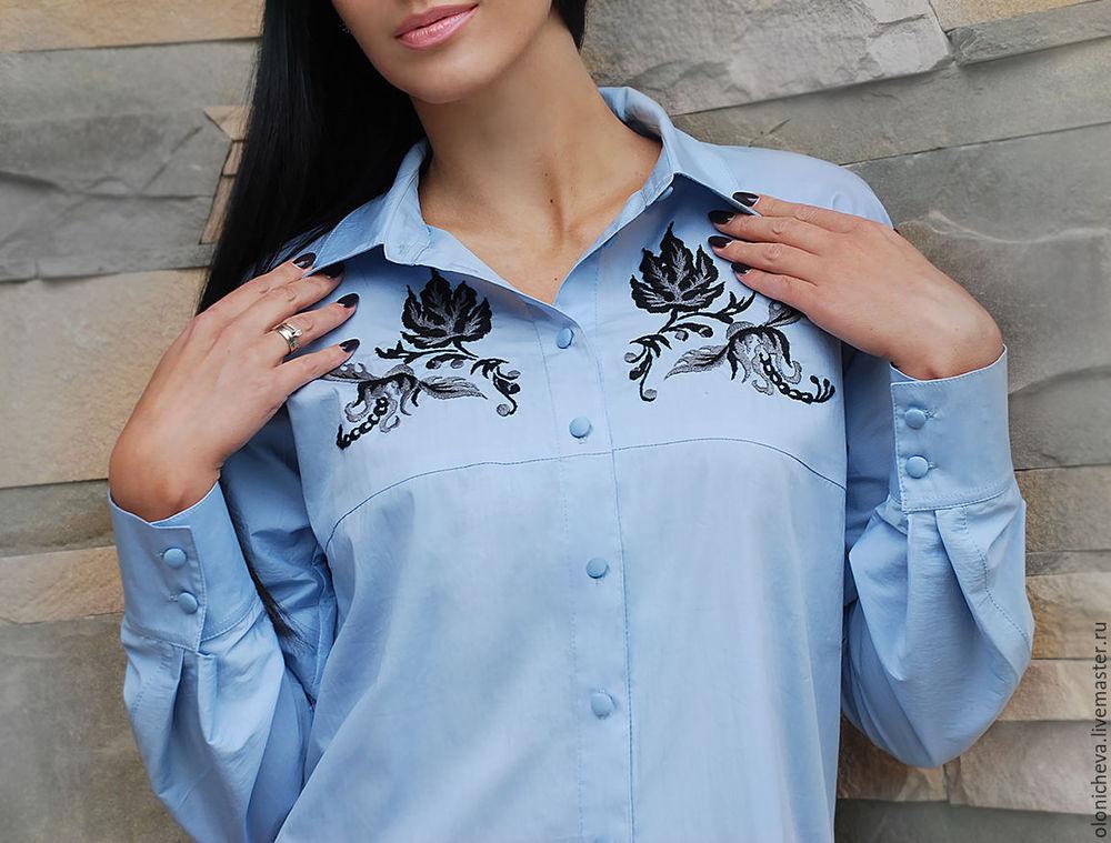 Вышивка на блузках 164