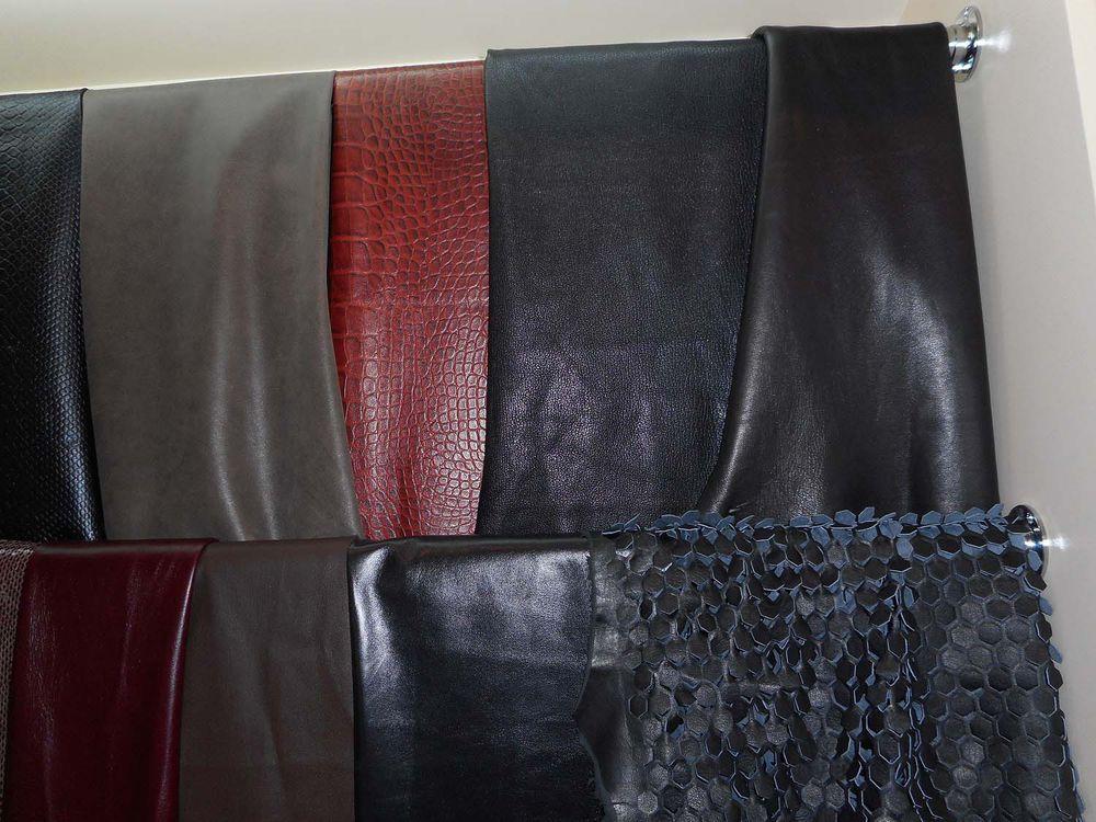 кожа для пошива платья