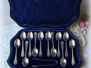 Дополнительные фото серебряных ложек. Ярмарка Мастеров - ручная работа, handmade.