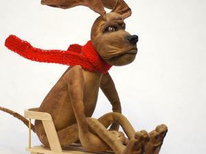 Если понравилась собака, прошу не пожалеть голоса!. Ярмарка Мастеров - ручная работа, handmade.
