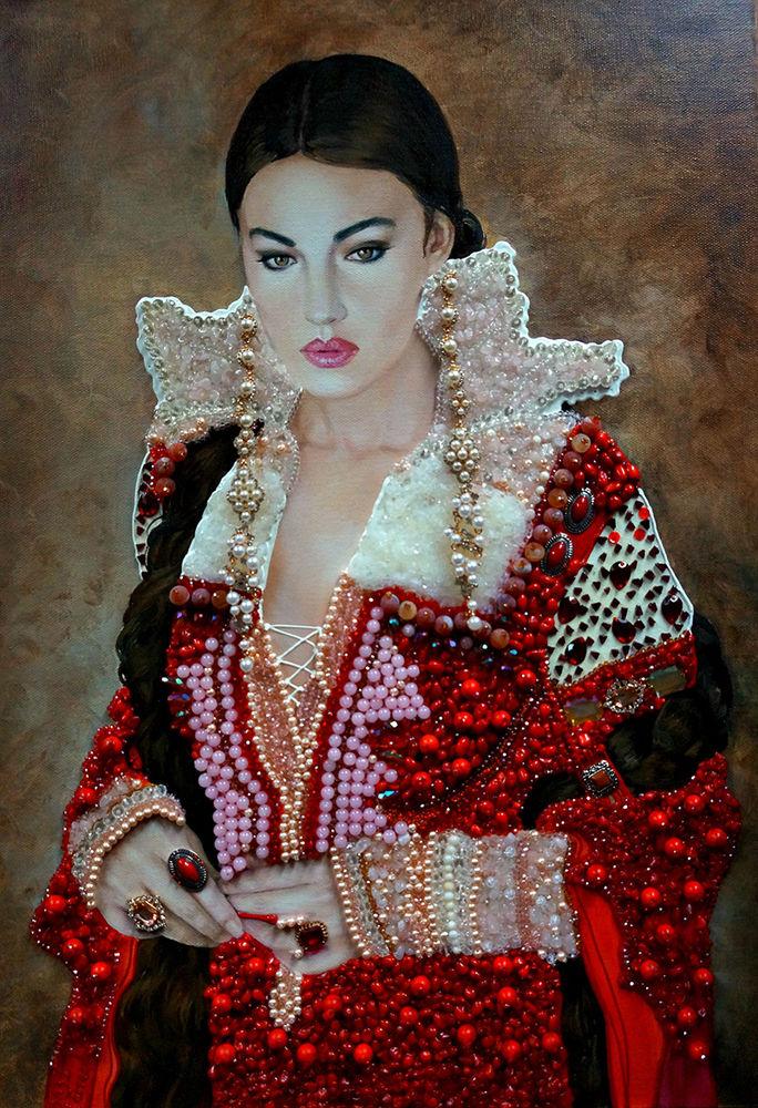 portrait monica bellucci