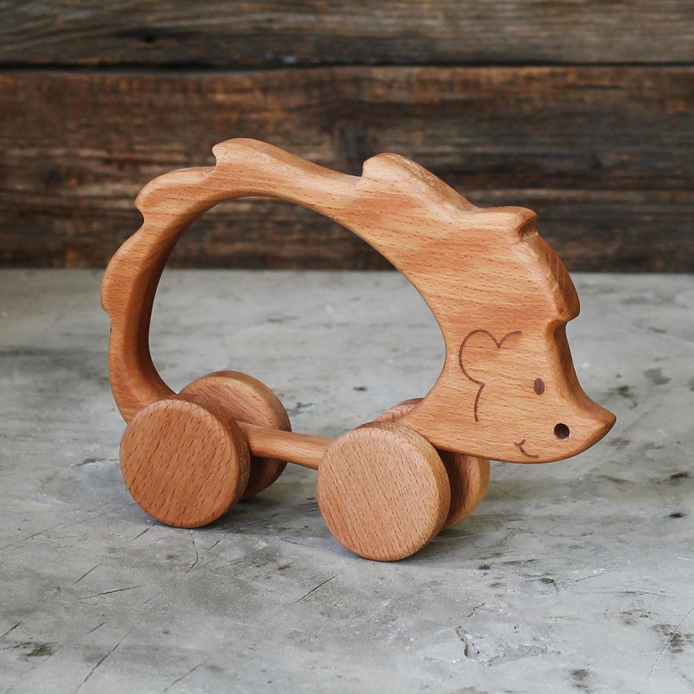 игрушка ёжик, прорезыватель, подарок ребенку, детская посуда