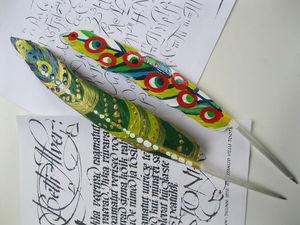 Как сделать шариковую ручку из гусиного пера. Ярмарка Мастеров - ручная работа, handmade.