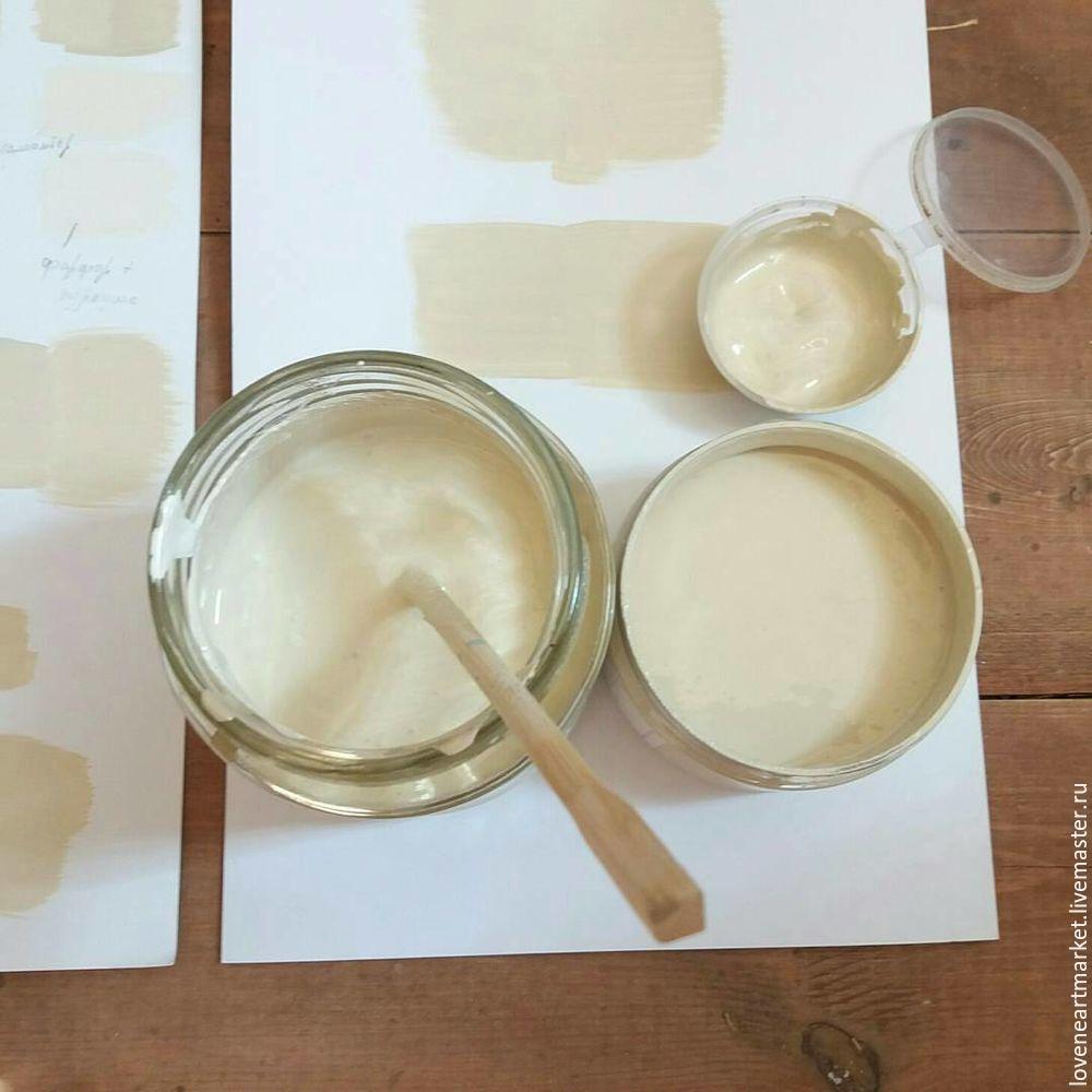 редизайн мебели, как коллеровать краску, как смешать краску