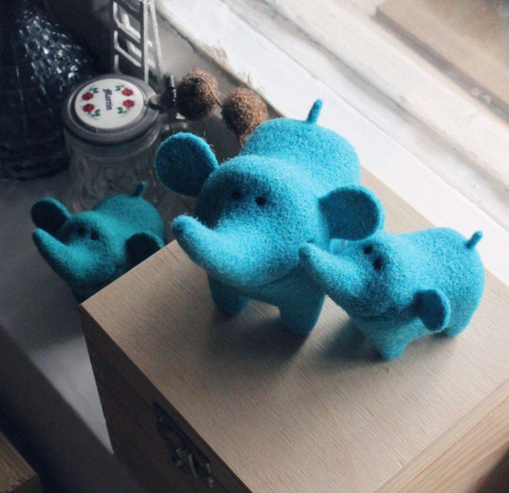 подарок, сухое валяние, валяние игрушки, спб, слон