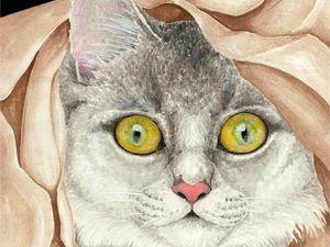 За гранью восприятия: работы художника Кристеля Каменщикова. Ярмарка Мастеров - ручная работа, handmade.