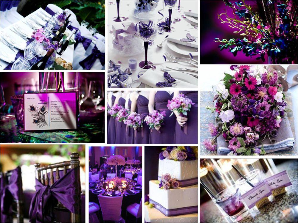 как сделать фото в фиолетовом цвете