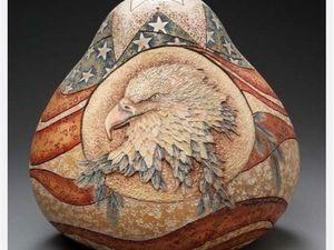 Удивительные скульптуры из тыквы. Ярмарка Мастеров - ручная работа, handmade.