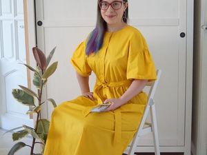 Автопортрет в жёлтом. Ярмарка Мастеров - ручная работа, handmade.