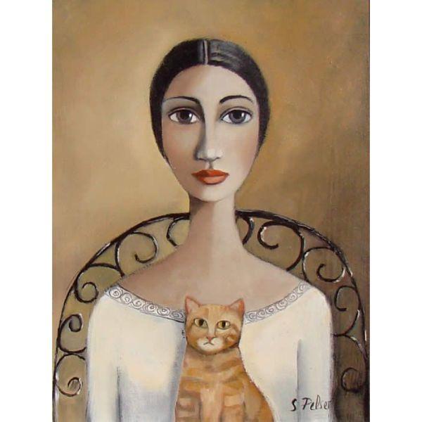 cat, живопись