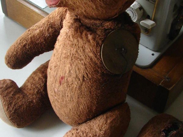 Мой способ реставрации старых медведей | Ярмарка Мастеров - ручная работа, handmade