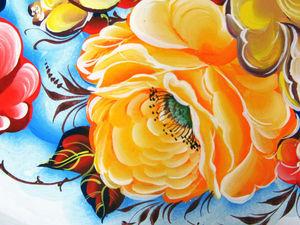 Курс обучение жостовской росписи | Ярмарка Мастеров - ручная работа, handmade