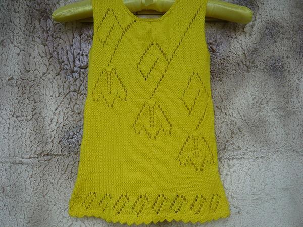 Отчет о тестировании Yellow tullips dress   Ярмарка Мастеров - ручная работа, handmade