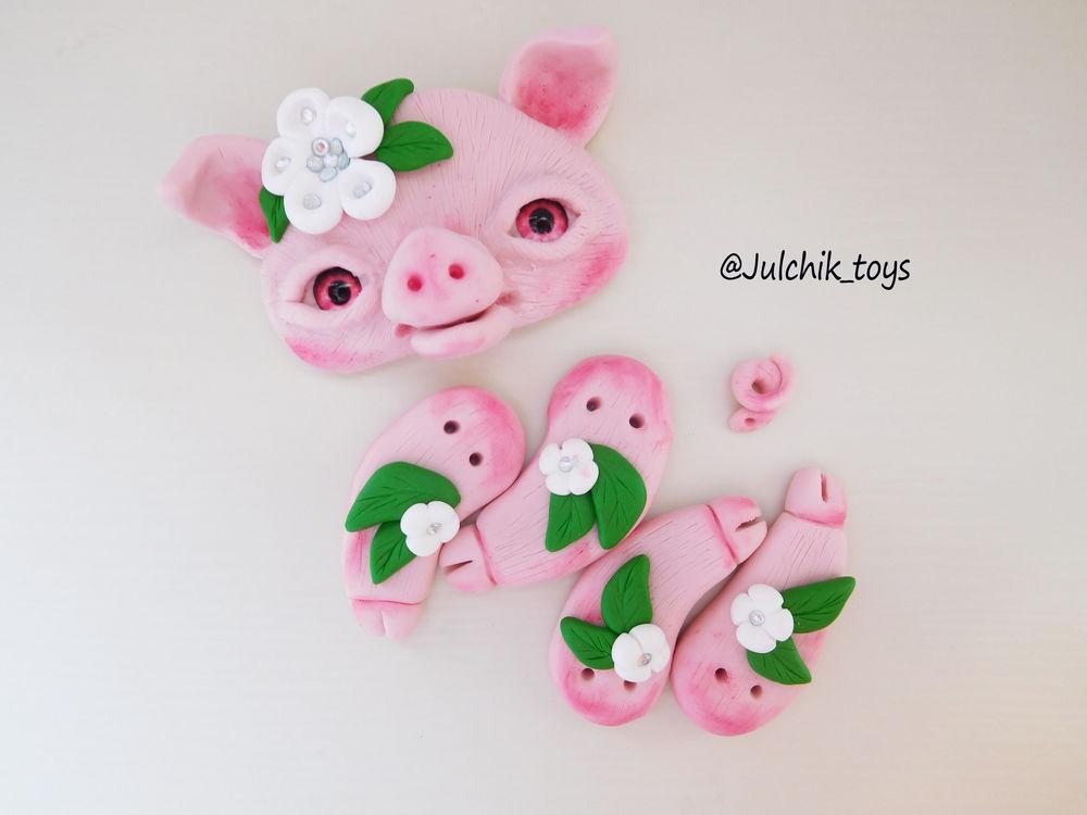 игрушка, игрушка свинка