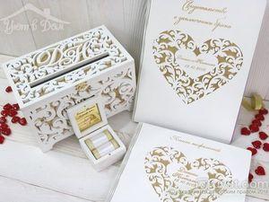 Свадьба в золотом цвете: актуально, модно, эффектно. Ярмарка Мастеров - ручная работа, handmade.