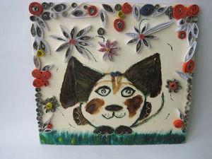 Собака сложной формы ,сказочной красоты. Ярмарка Мастеров - ручная работа, handmade.