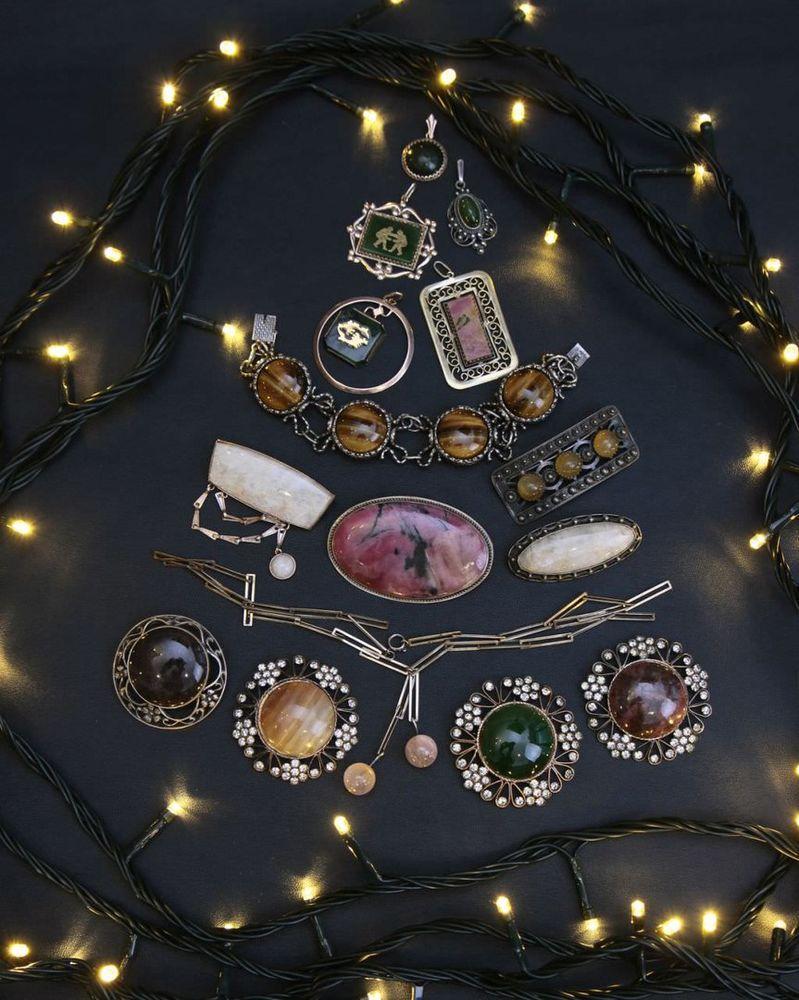 украшения, винтаж, серебряные украшения