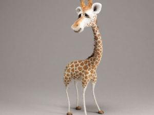 Жираф Жирик | Ярмарка Мастеров - ручная работа, handmade