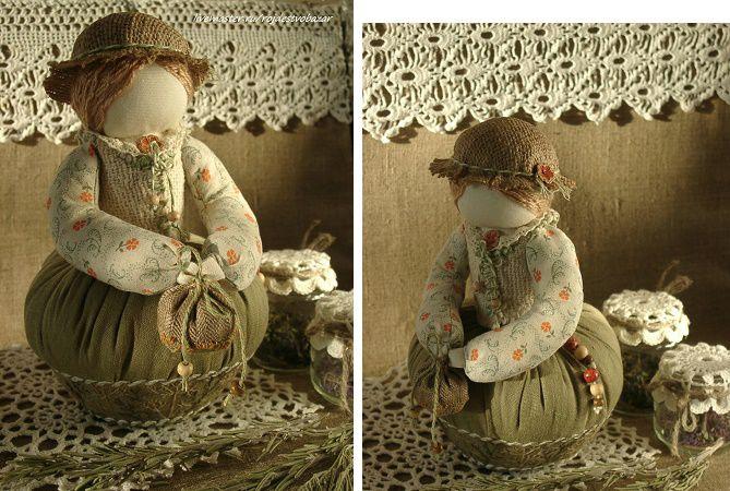 Арома-куколки - отличный подарок ручной работы, фото № 2