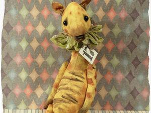 Жирафик 1200 руб. Ярмарка Мастеров - ручная работа, handmade.