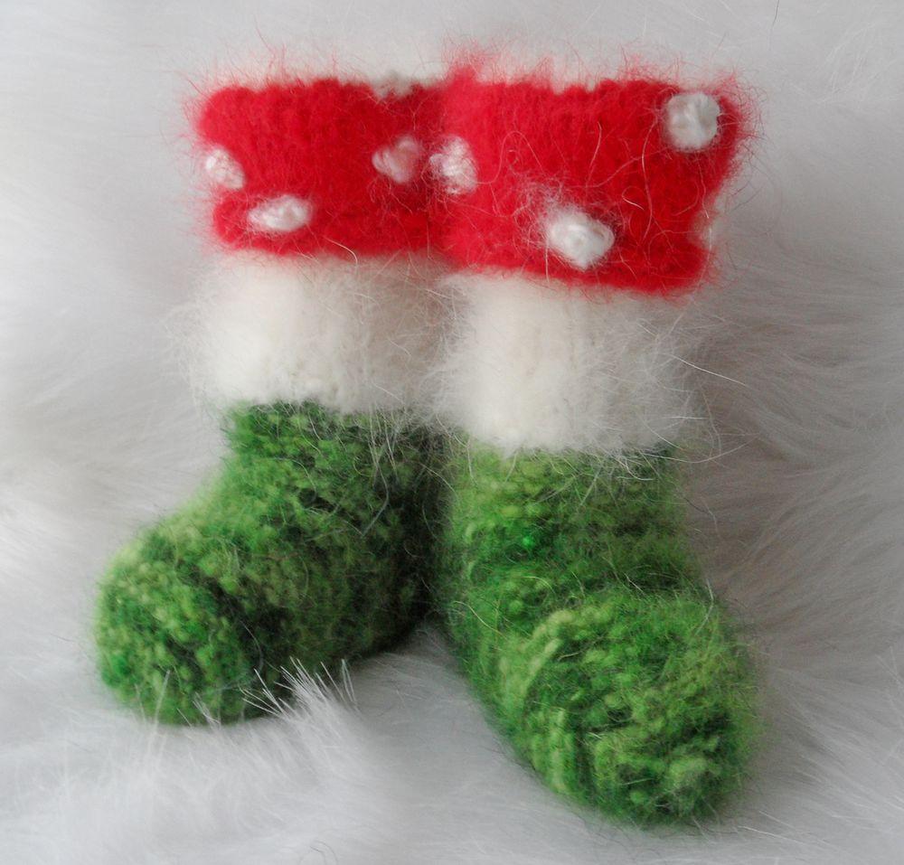 вязаные носки детские