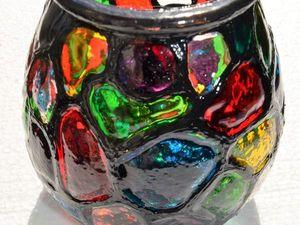Предновогоднее путешествие стеклянного подсвечника или тайны упаковки с разоблачением. Ярмарка Мастеров - ручная работа, handmade.