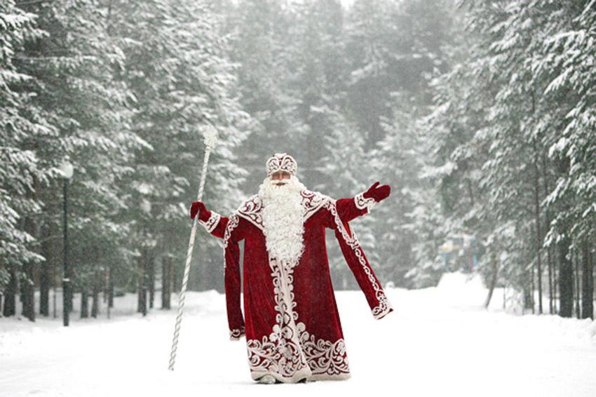 новый год, дед мороз и снегурочка