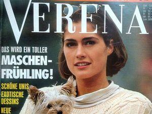 Verena № 3/1992. Содержание. Ярмарка Мастеров - ручная работа, handmade.