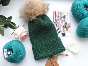 Зимние шапочки на распродаже!. Ярмарка Мастеров - ручная работа, handmade.