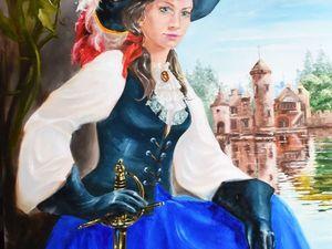 Видеоурок: рисуем романтический портрет. Ярмарка Мастеров - ручная работа, handmade.