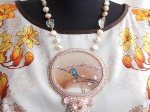 Мои работы.Часть 3.Вышивка бисером.. Ярмарка Мастеров - ручная работа, handmade.