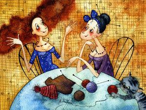 Вместе весело вязать!? | Ярмарка Мастеров - ручная работа, handmade