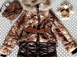 Зимнее пальто на девочку от 9 лет за 1099!!!! | Ярмарка Мастеров - ручная работа, handmade