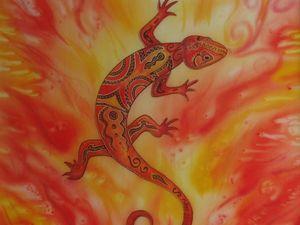 """""""Саламандра — Дух Огня""""!. Ярмарка Мастеров - ручная работа, handmade."""