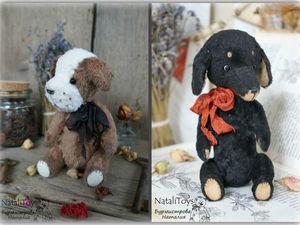 Арчи и Дружок участвуют в конкурсе на лучший Новогодний Подарок!!!. Ярмарка Мастеров - ручная работа, handmade.