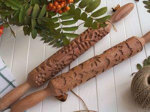 Рецепт печенья для скалки с узором. Ярмарка Мастеров - ручная работа, handmade.