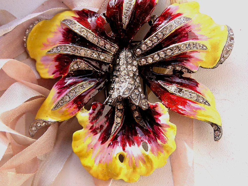 винтаж, орхидея