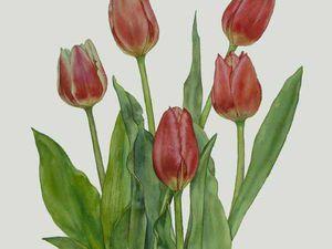 Ботаническая живопись в интерьере. | Ярмарка Мастеров - ручная работа, handmade