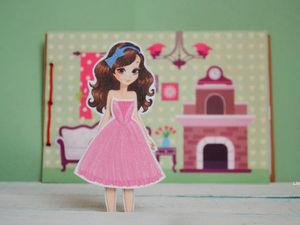Дюймовочка или модница? Два домика для новой куколки!. Ярмарка Мастеров - ручная работа, handmade.