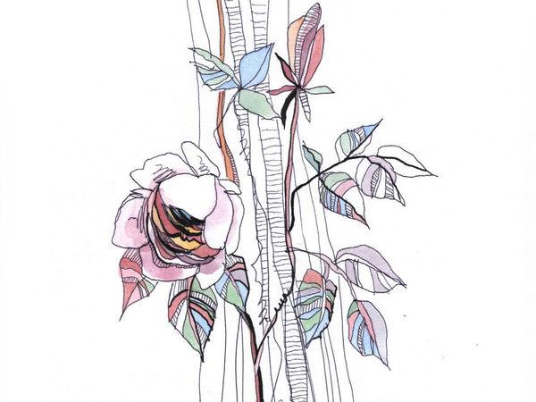 Ботаническая флора в новом стилевом решении! | Ярмарка Мастеров - ручная работа, handmade