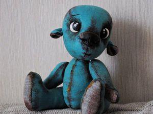 Как сделать из полимерной глины пришивные глазки для игрушек. Ярмарка Мастеров - ручная работа, handmade.