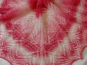 Новая шаль из кауни | Ярмарка Мастеров - ручная работа, handmade