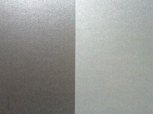 Две серебристых бумаги с фактурой