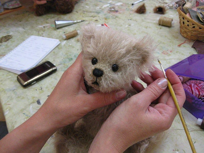 шитье, мишки, авторская кукла