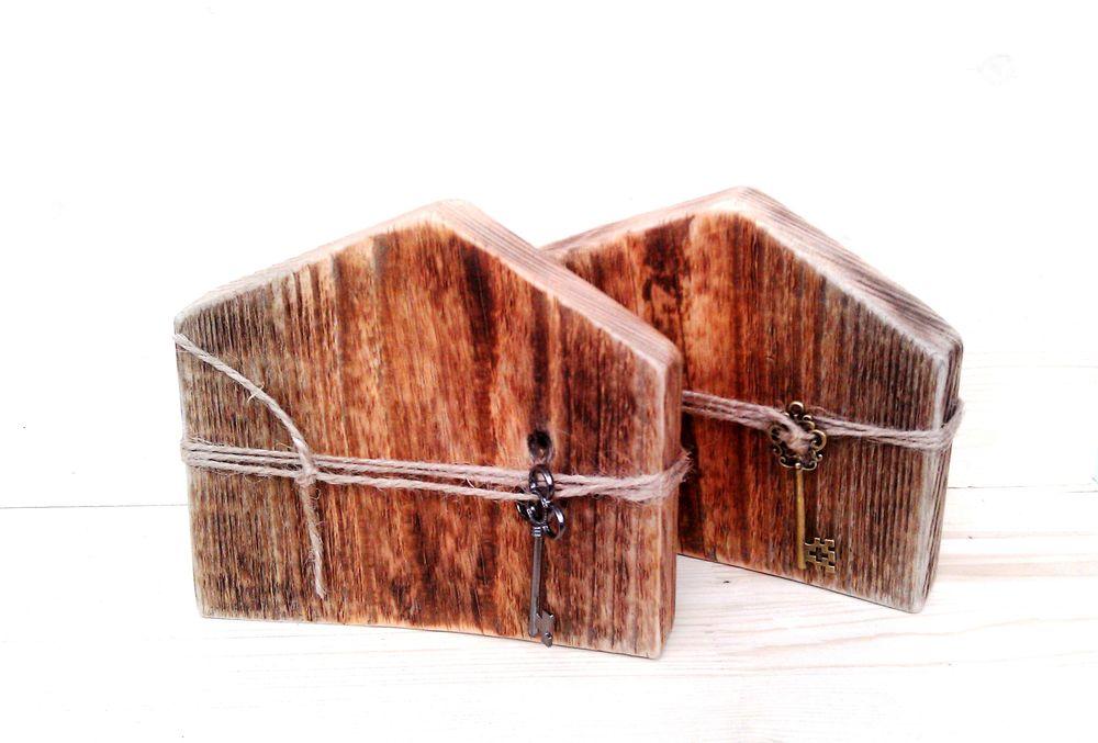 дом, домик, домики, старая доска, декор дома