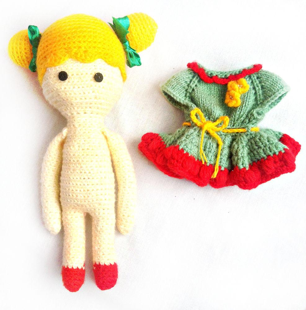 кукла, вязание, вязаная кукла, подарок 2017