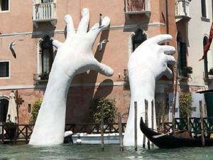 Глобальное потепление,Венеция. Ярмарка Мастеров - ручная работа, handmade.