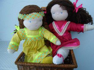 Вальдорфские куклы!!! Очень миленькие и недорогие!!!   Ярмарка Мастеров - ручная работа, handmade